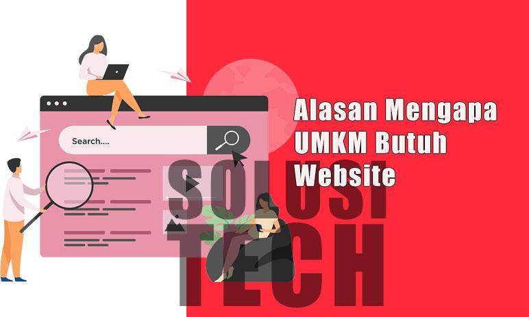 Alasan Mengapa UMKM Butuh Website