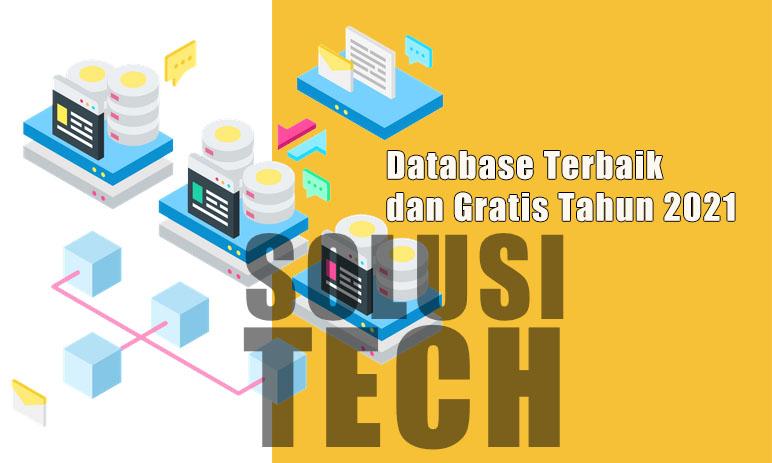 Database Terbaik dan Gratis Tahun 2021