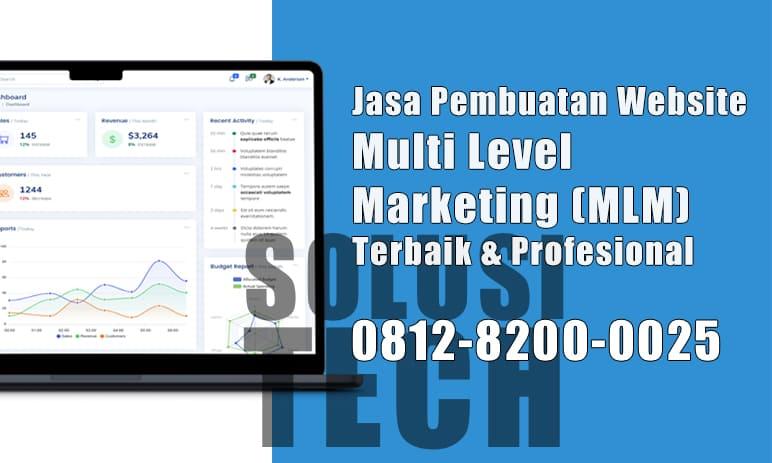Jasa Website MLM di Palangkaraya Profesional